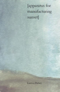 chapbook laressa dickey apparatus for manufacturing sunset