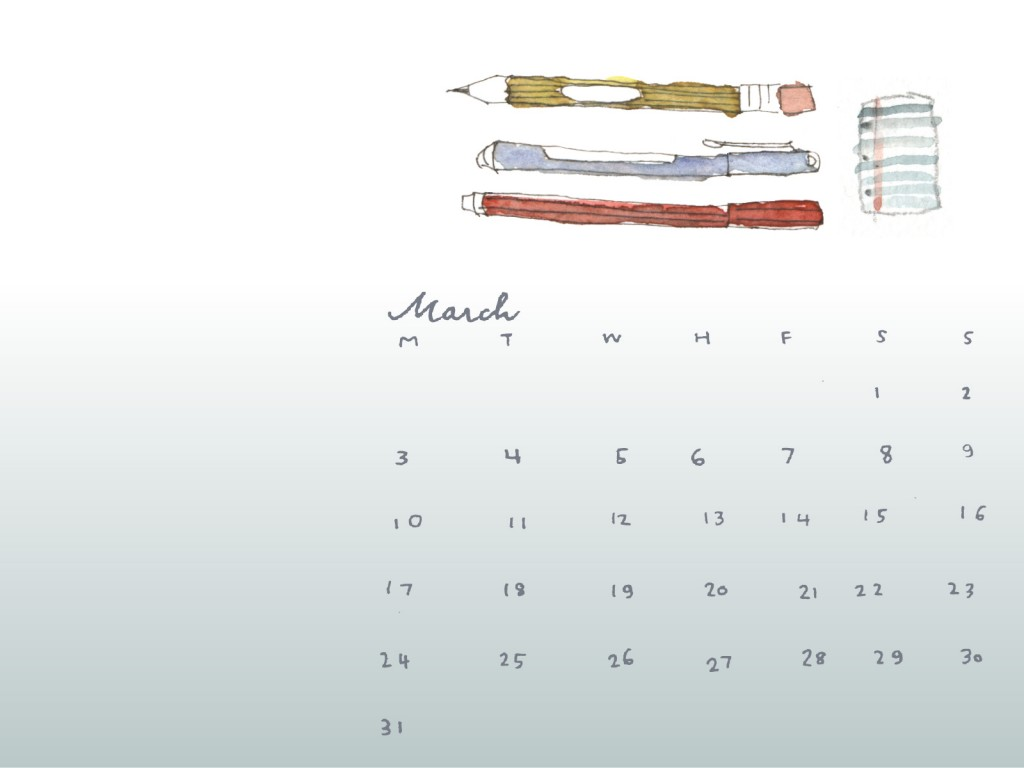 march free desktop calendar 2014 downloadable