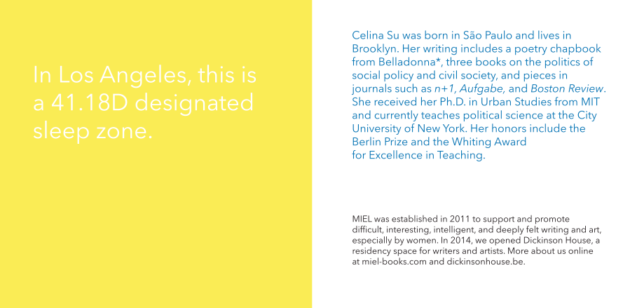Celina Su - Plurality Decree - MIEL 2015