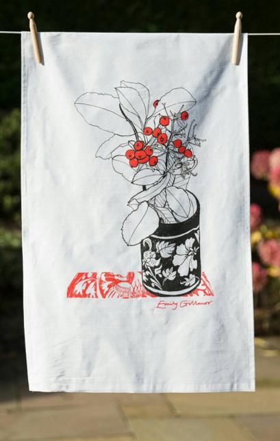 Emily Gillmor - printed tea towel